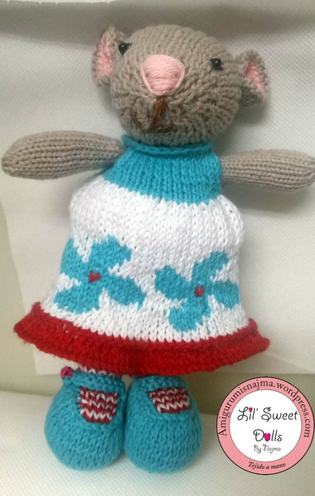 doll knitted toy