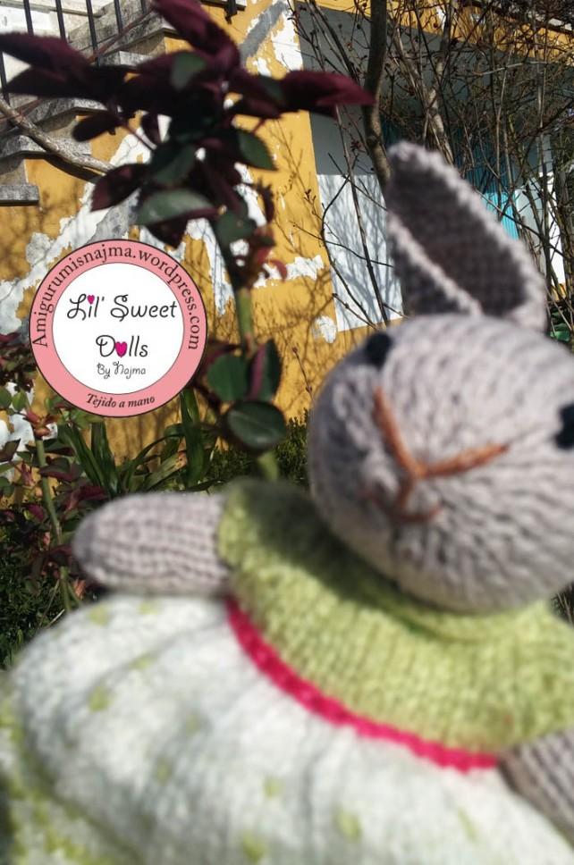 knitted doll toy muñeca tejer weamigurumi