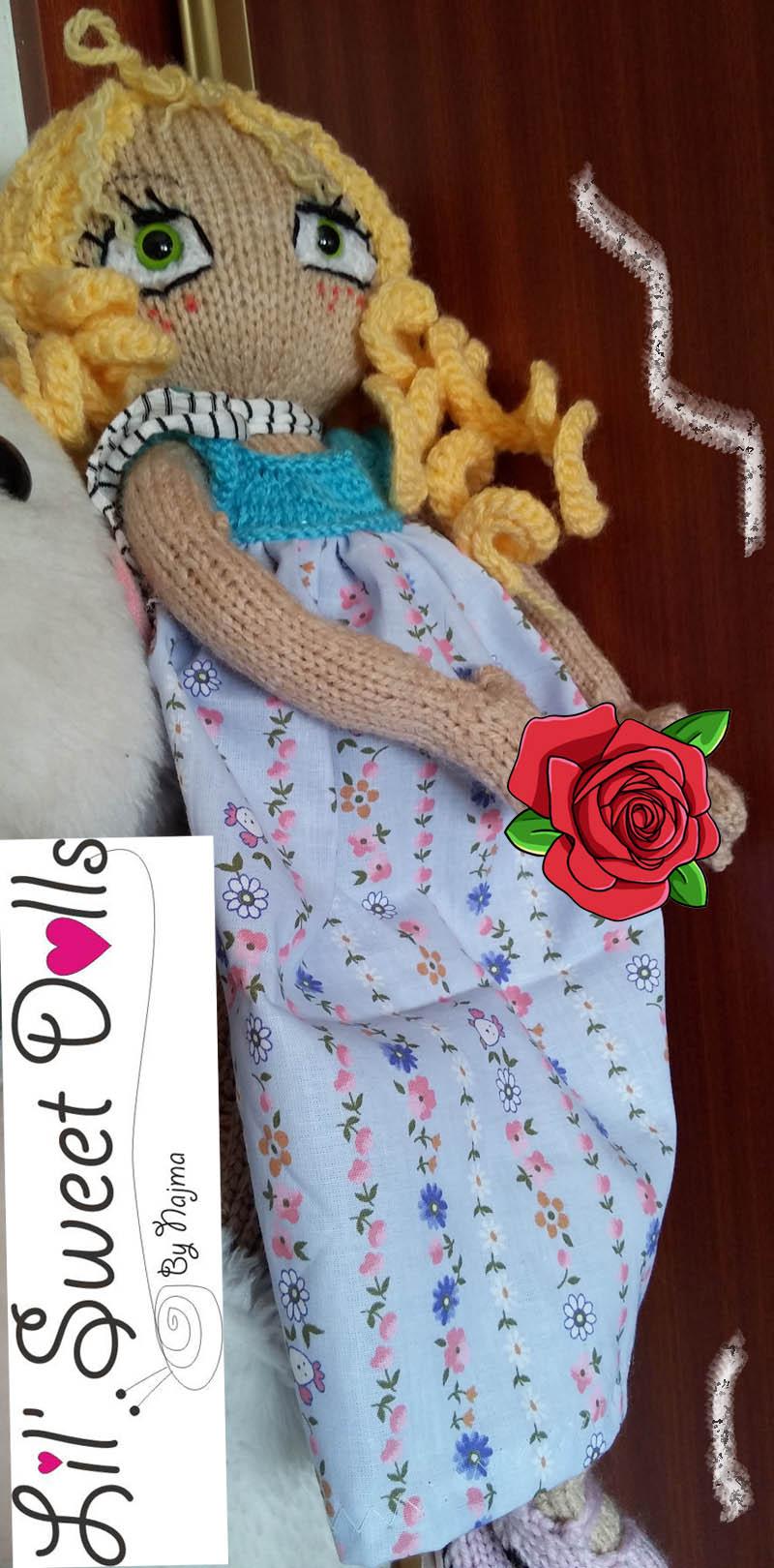 knitting doll muñeca amigurumi13